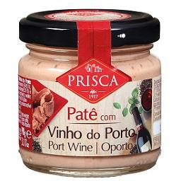 Paté com vinho do Porto