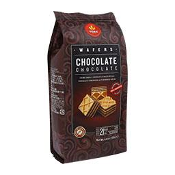 Wafers chocolate cubos