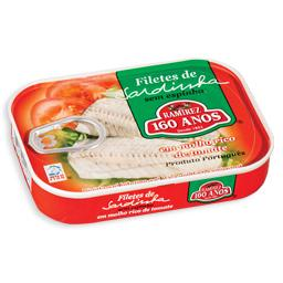 Filete de sardinha em tomate