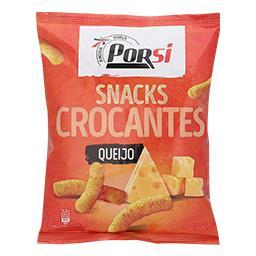 Snacks crocantes com queijo
