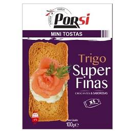 Mini tostas trigo super finas