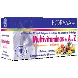 Multivitaminas de a a z (cápsulas)