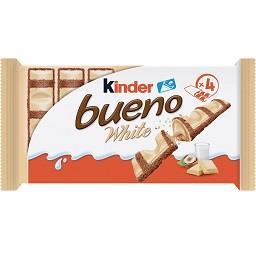 Chocolate branco com recheio de avelã