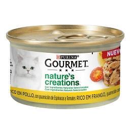 Comida húmida para gato de aves