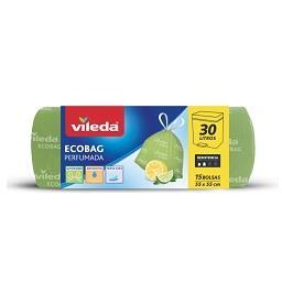 Ecobag 30 L perfumado limão