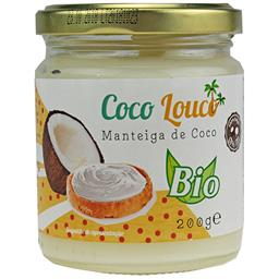 Manteiga de coco (coco louco) bio