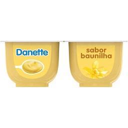 Sobremesa danette baunilha