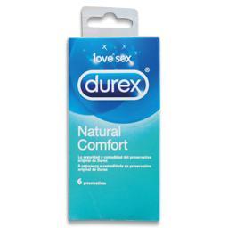 Preservativo natural comfort, 6 unidades