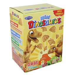 Bolacha infantil dinossaurus mini dino cereais