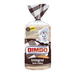 Pão integral sem côdea