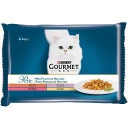 Comida Húmida para Gato Finos Pedaços em Gelatina