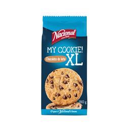 Bolachas my cookies xl com pepitas de chocolate de l...