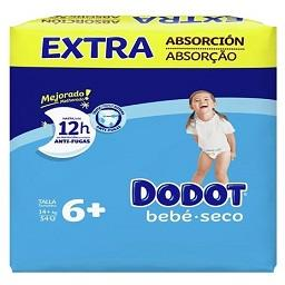 Fraldas bebé extra seco T6