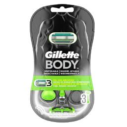 Máquina depiladora descartável, Body men