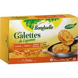 Galettes Cenoura e Abóbora