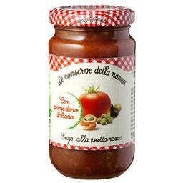 """Molho tomate com azeitona e alcaparras """"puttanesca"""" ..."""