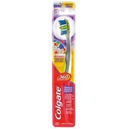 Escova dentifrica 360º advanced média