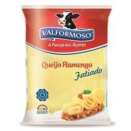 Queijo flamengo, fatias
