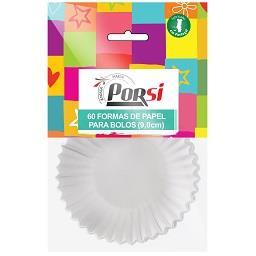 Forma de papel para bolos, 9 cm, 60 unidades