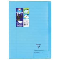 Caderno agrafado koverbook pautado 48 folhas