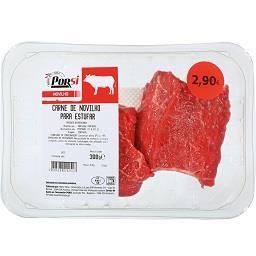 Carne para estufar de novilho