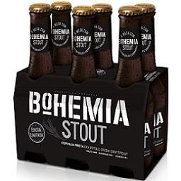 Cerveja com álcool bohemia stout