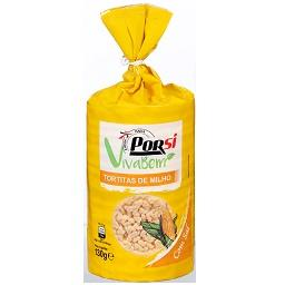 Tortitas de milho com sal