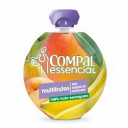 Compal essencial multifrutos pouch