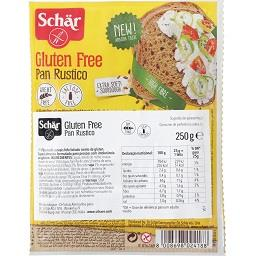 Schär pão rústico fatiado sem glúten