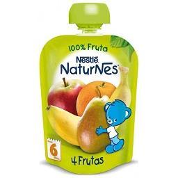 Fruta para bebé 4 frutas +4 meses