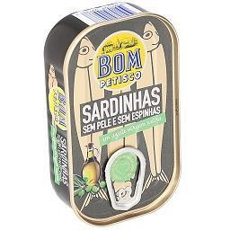 Sardinhas sem pele e sem espinhas em azeite virgem e...