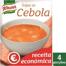 Sopa de cebola económica