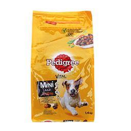 Alimento sec cão mini galinha/vegetais 1.4k