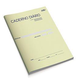 Caderno Diário Liceal Quadriculado