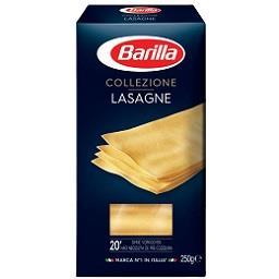 Massa lasagne sêmola barilla