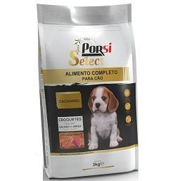 Ração seca para cachorro com carne fresca