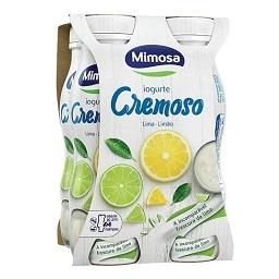 Iogurte líquido lima e limão