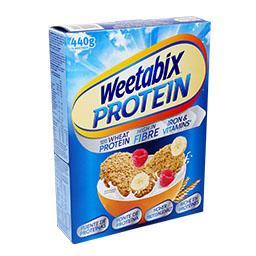 Weetabix proteína