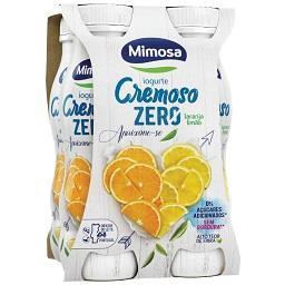 Iogurte líquido cremoso zero laranja/limão