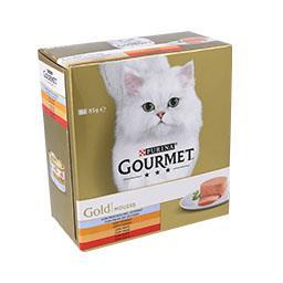 Comida Húmida para Gato Seleção de Mousses