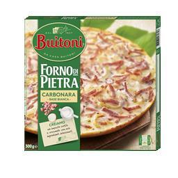 Pizza forno de pietra 4 carbonara