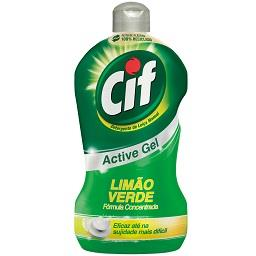 Detergente Manual Loiça Active Gel Limão Verde
