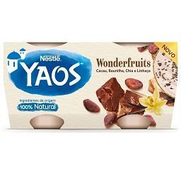 Iogurte Grego Yaos Cacau e Baunilha