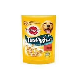 Snack cão tasty bites cheesy