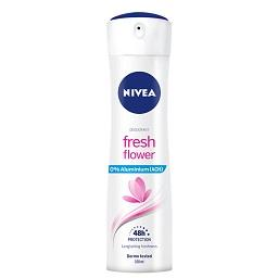 Desodorizante spray fresh flower 0% alumínio