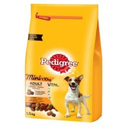 Alimento seco mini dog, galinha