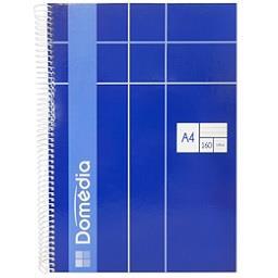 Caderno espiral capa dura A4 | 160 folhas | pautado
