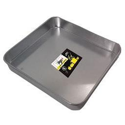 Tabuleiro em alumínio 30 x 28 cm basic