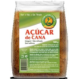 Açúcar de cana integral