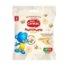 Nutripuffs de banana 8 meses s/ açúcar